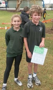 Bree and Scott Zone Cross Country 19-5-15