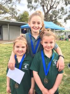 Champions at the Athletics