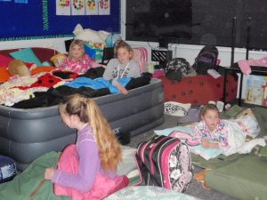 Sleepover fun at Ultima