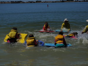 Open Water Learning at Lake Charm.